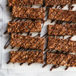 No Bake Chewy Dark Chocolate Granola Bars – Fork Knife Swoon