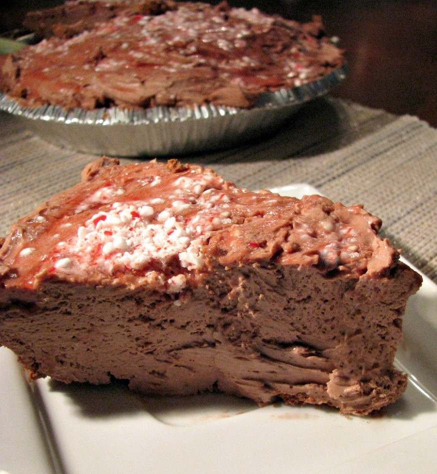 No-Bake Chocolate Peppermint Cheesecake - Rants From My ...