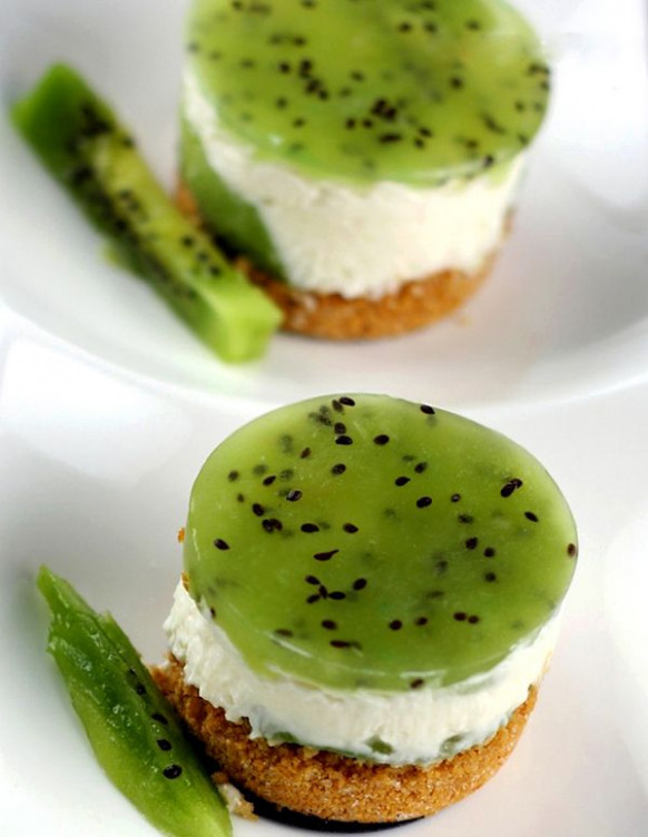 No Bake Kiwi Cheesecake | Recipe | Summer, Cheesecake ...