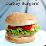 No Fail, Seriously Delicious & Juicy Turkey Burgers from ...
