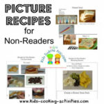 Non Reader Recipes Or Picture Recipes For Young Kids To …