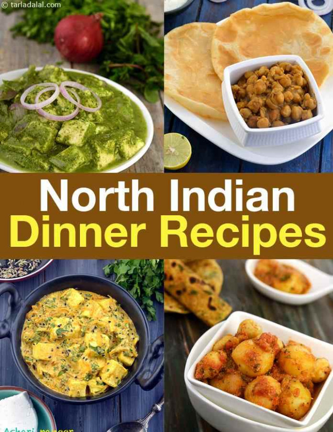 North Indian Dinner Recipes, North Indian Veg Recipes for ...