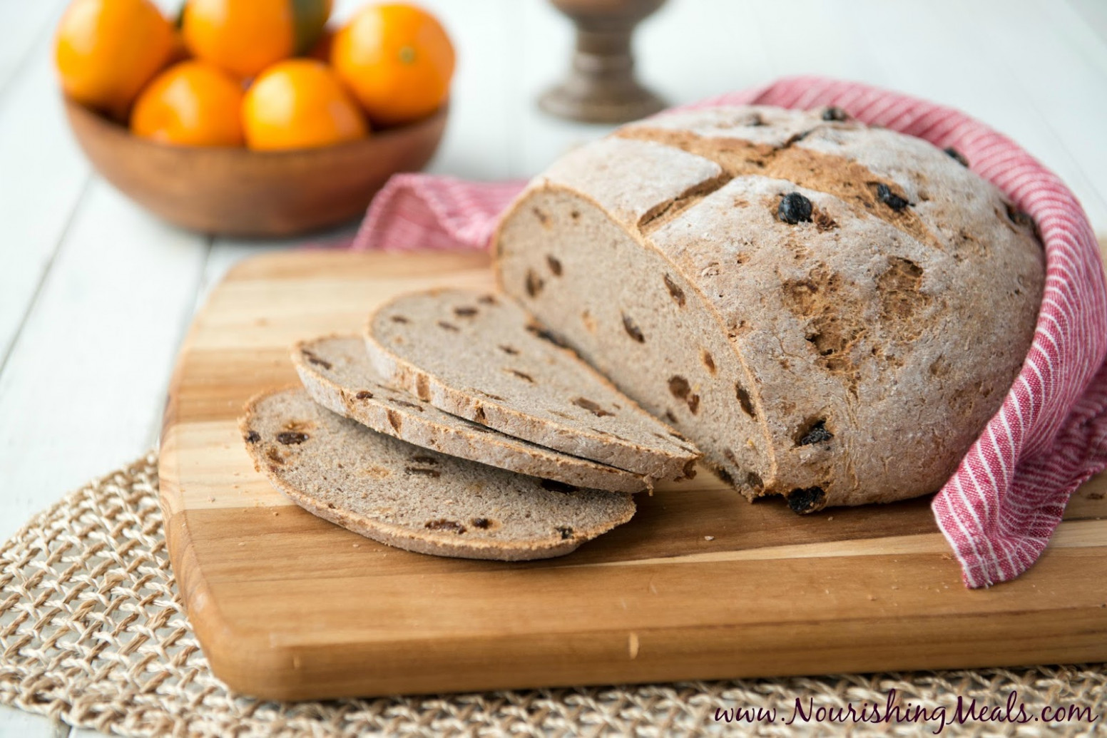 Nourishing Meals®: Buckwheat Cinnamon Raisin Bread (gluten ...