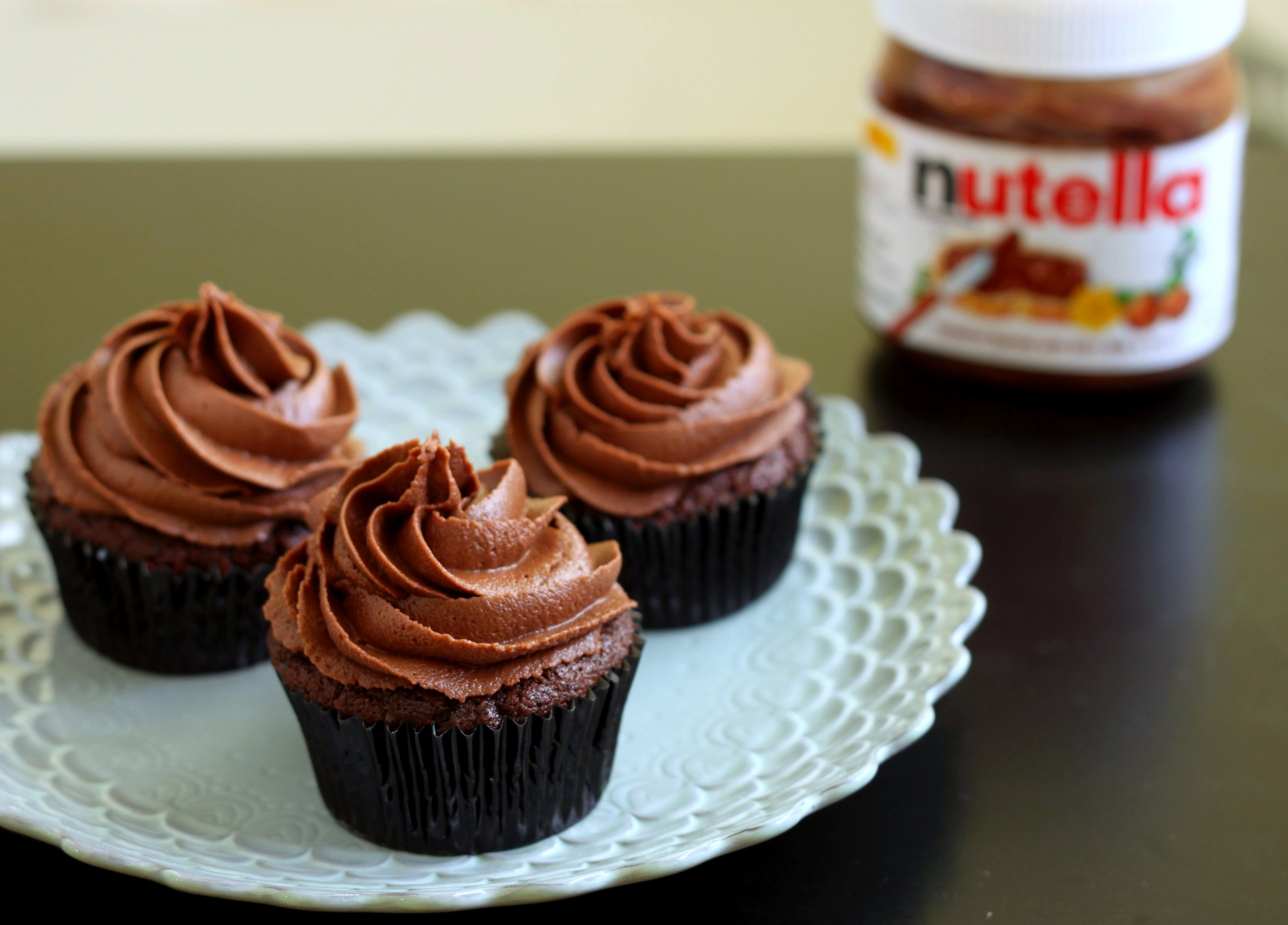 Nutella Cupcakes Recipe — Dishmaps