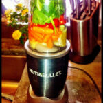 #Nutribullet V8 Recipe: Carrots, Cucumber, Tomatoes, Lemon …