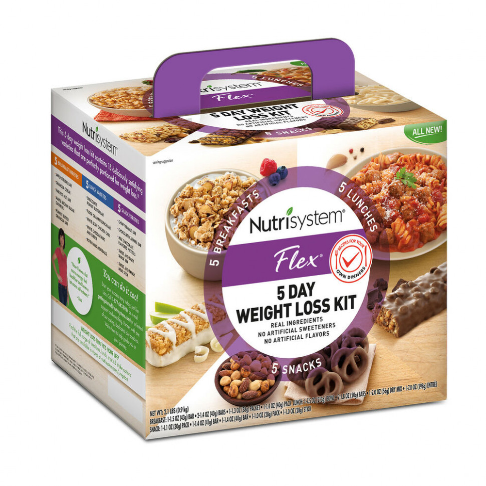 Nutrisystem 5 Day Weight Loss Kit Healthy Food Breakfast ...