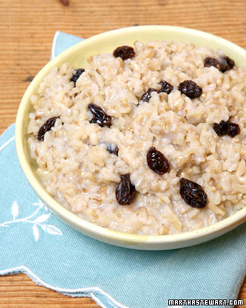 Oatmeal and Other Hot Cereal Recipes | Martha Stewart