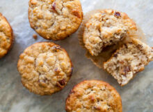 Oatmeal Muffins with Raisins, Dates, and Walnuts Recipe ...