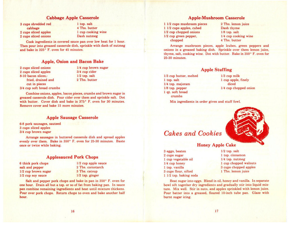 Old Fashioned Apple Recipes PH1156 16