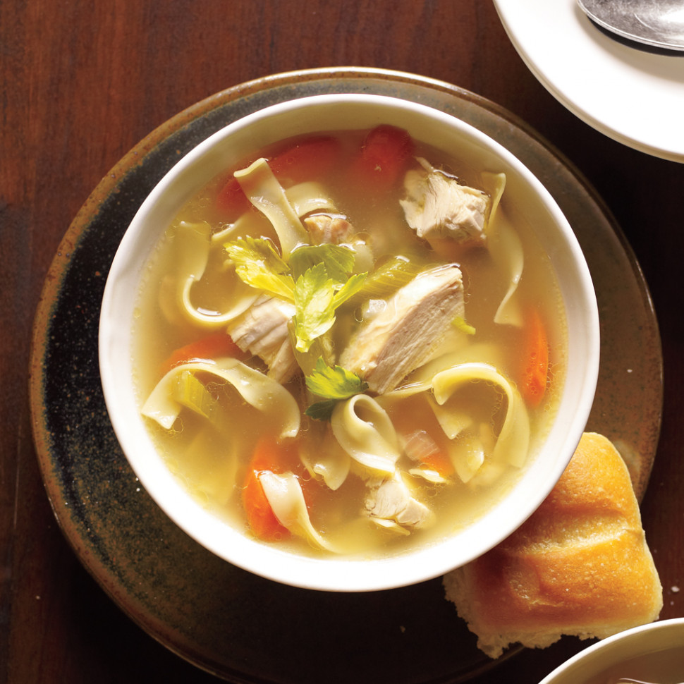 Old-Fashioned Chicken Noodle Soup Recipe | MyRecipes