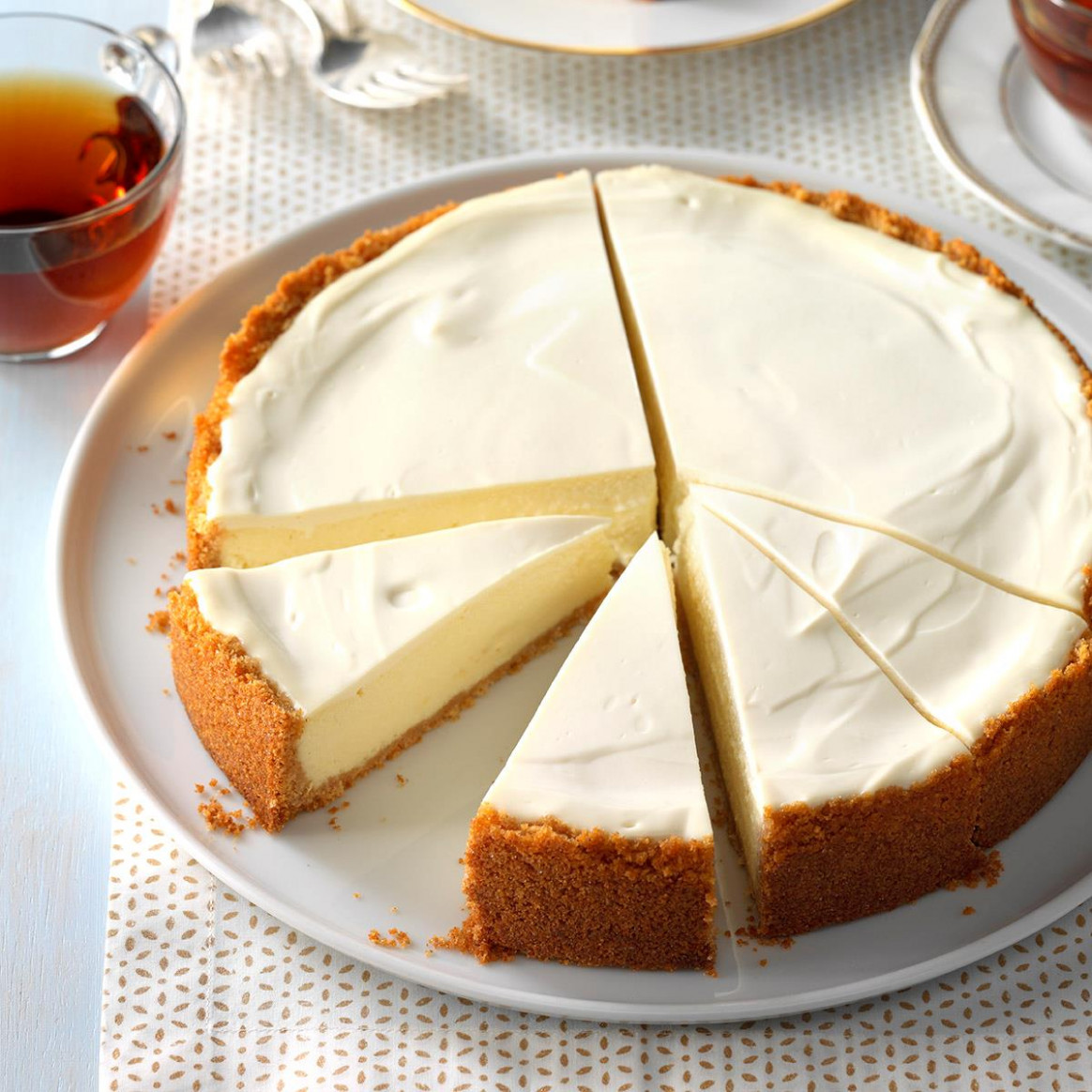 Old-World Ricotta Cheesecake Recipe | Taste of Home