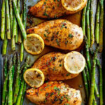One Pan Honey Lemon Chicken Asparagus – Cafe Delites