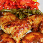 One Pan Oven Baked Chicken And Peppers | Recipe | Easy …