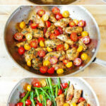 One Pan Pesto Chicken And Veggies – Sun Dried Tomatoes …