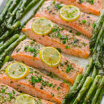One Pan Salmon Asparagus Recipe (VIDEO) – NatashasKitchen