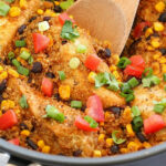 One Pan Southwest Chicken & Quinoa Recipe – Yummy Healthy Easy