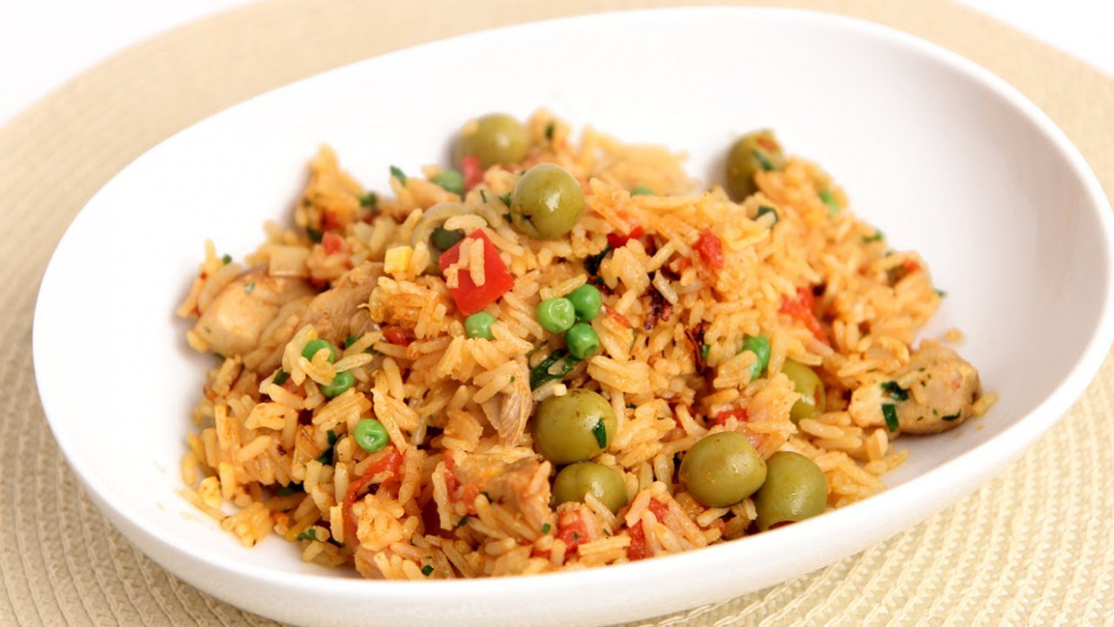 One Pot Chicken & Rice Recipe - Laura Vitale - Laura in ...