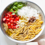 One Pot Penne Pasta With Tomato & Basil – The Little Kitchen