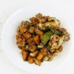 """One Pot Quick Chicken Stew With """"Fake"""" Potatoes"""