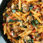 One Pot Sausage Pasta Recipe | Two Peas & Their Pod