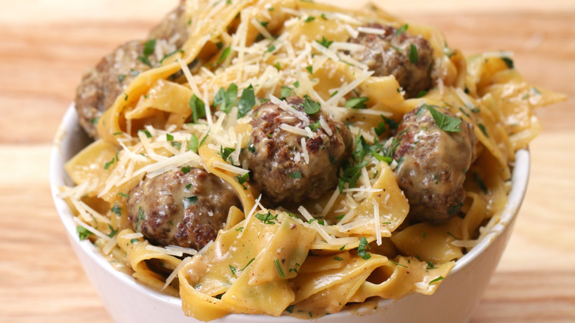 One - Pot Swedish Meatball Pasta - CookeryShow.com