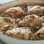 One Pot Tarragon Chicken, Mushrooms & Rice | The Splendid …