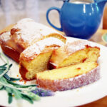 Orange And Lavender Egg Cake ~with Original Recipe~