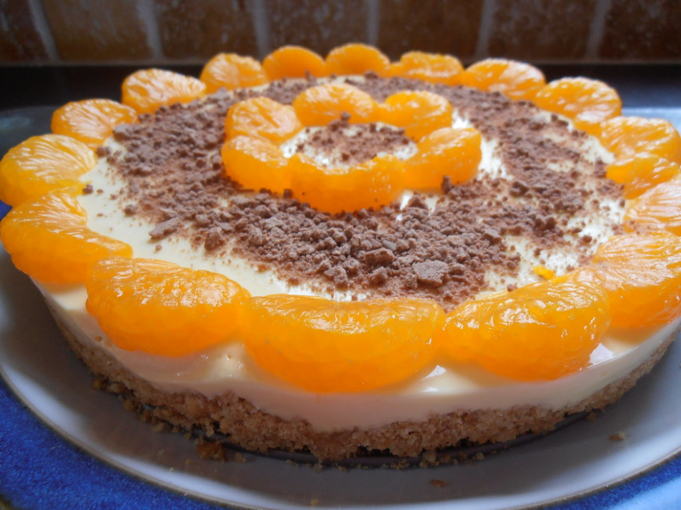 Orange Cheesecake Recipe from The Cake Recipe