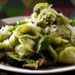 Orecchiette Pasta With Lemon, Courgette And Hazelnut Pesto …