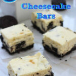 Oreo Cheesecake Bars: 7 Ingredients For A Quick Dessert …