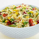 Orzo Pasta Salad With Tomatoes, Corn And Basil Recipe …