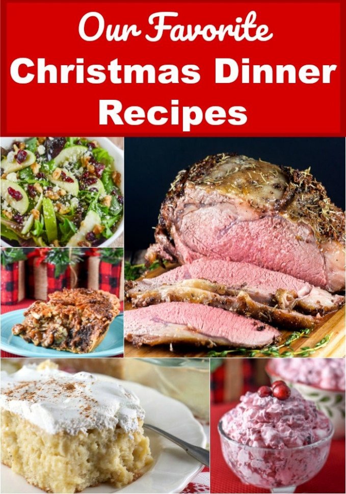 Our Favorite Christmas Dinner Recipes - Flavor Mosaic