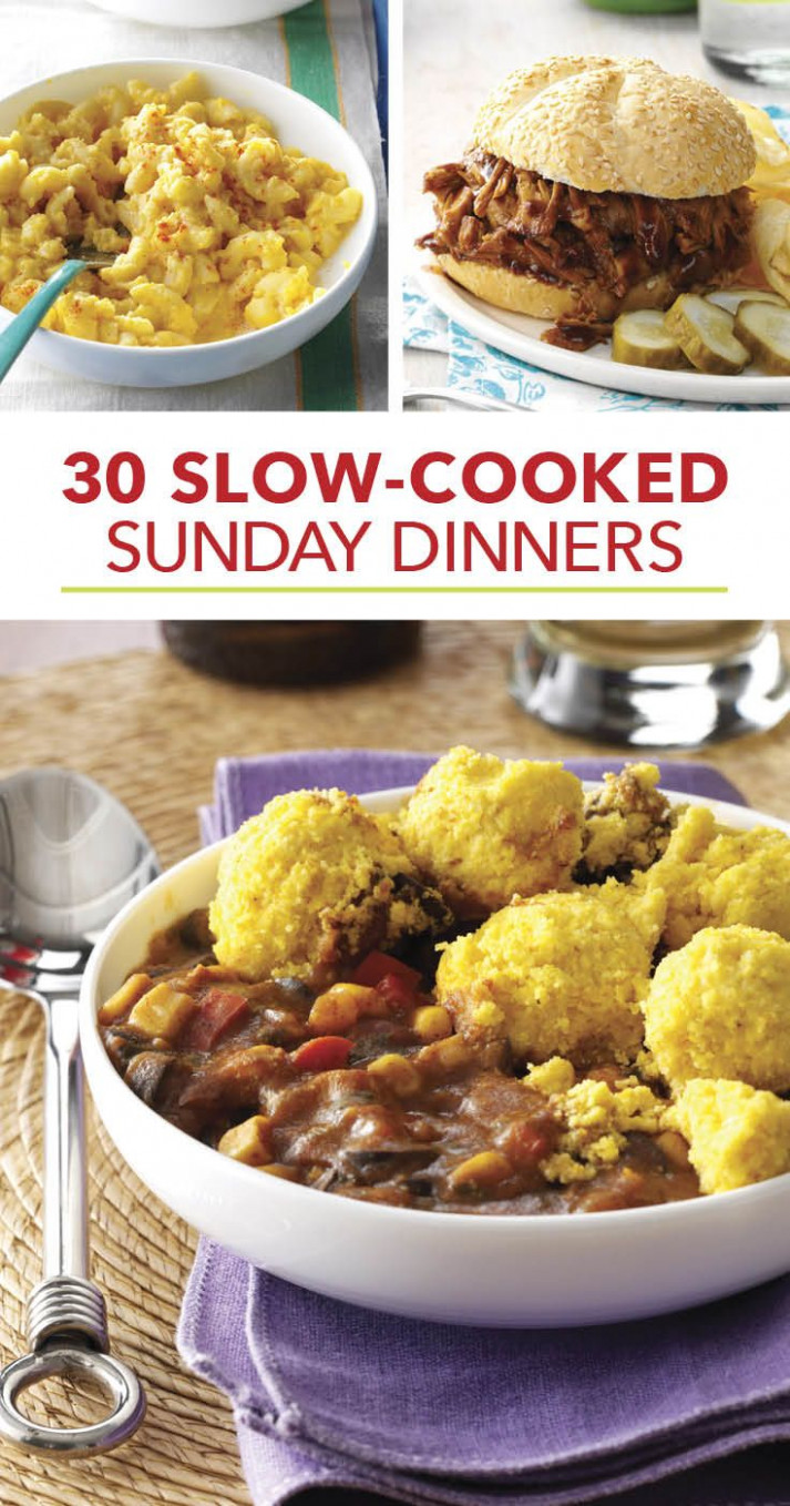 Our Most-Loved Slow-Cooked Sunday Suppers in 2019 | Sunday ...