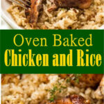 Oven Baked Chicken And Rice #Oven #Baked #Chicken #Rice # …