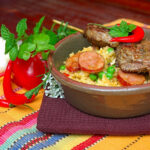 """Oven Baked Risotto With Lamb """"Espetada's"""" – My Easy Cooking"""