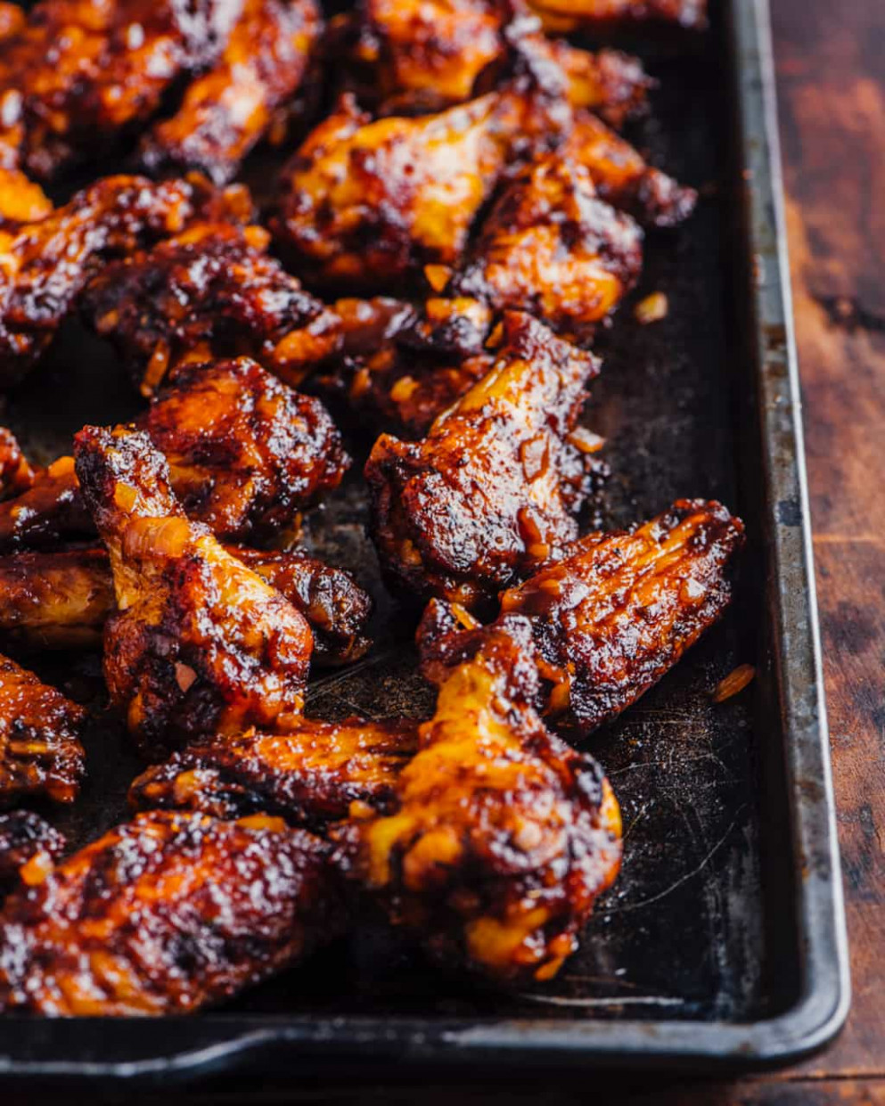 Oven Barbecued Chicken Wings Recipe • Steamy Kitchen Recipes