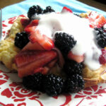 Oven Pancake For One With Berries And Greek Yogurt – With Recipe