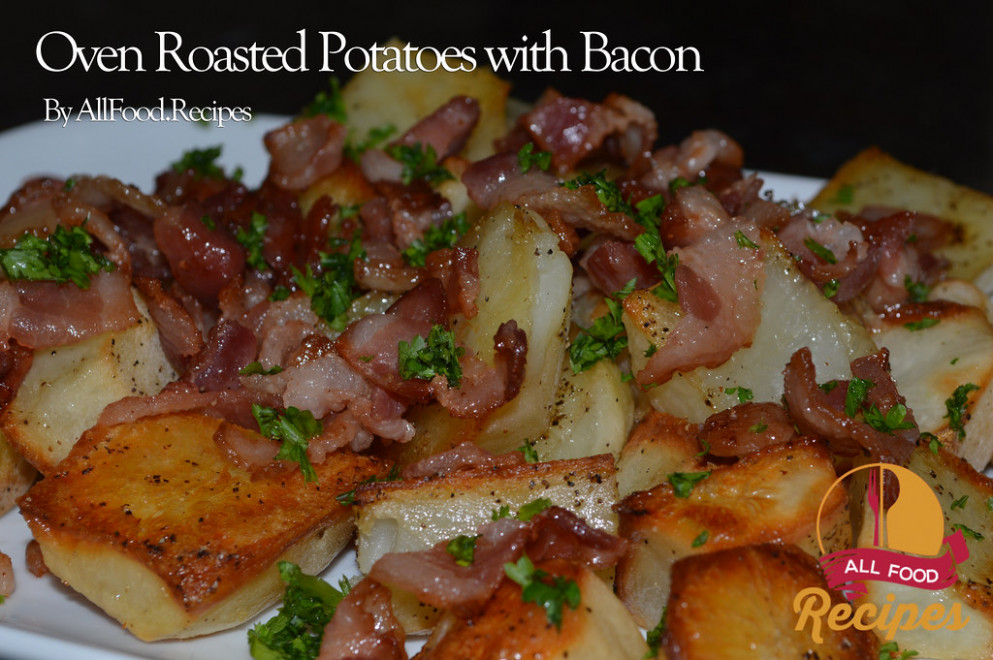 Oven Roasted Potatoes with Bacon