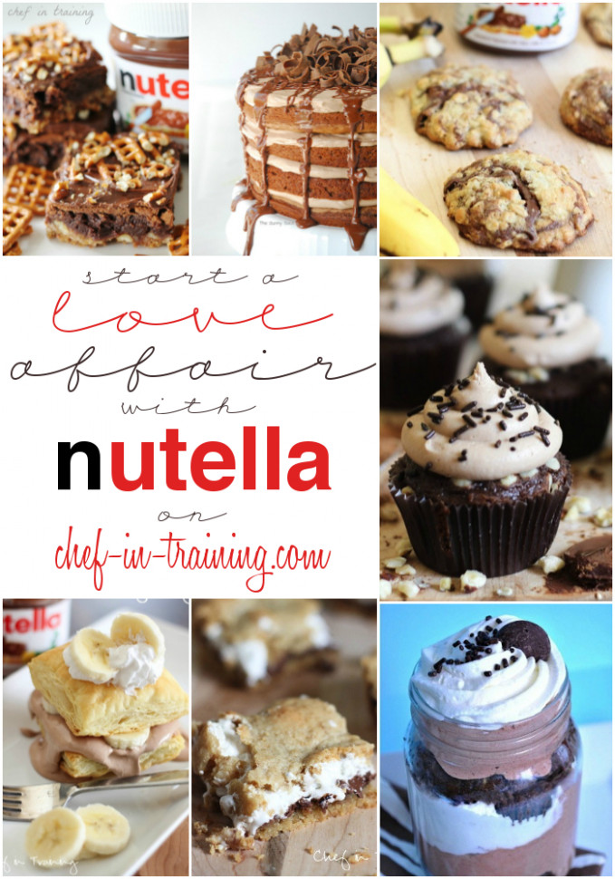 OVER 50 Mouthwatering Nutella Recipes! | Chef in Training