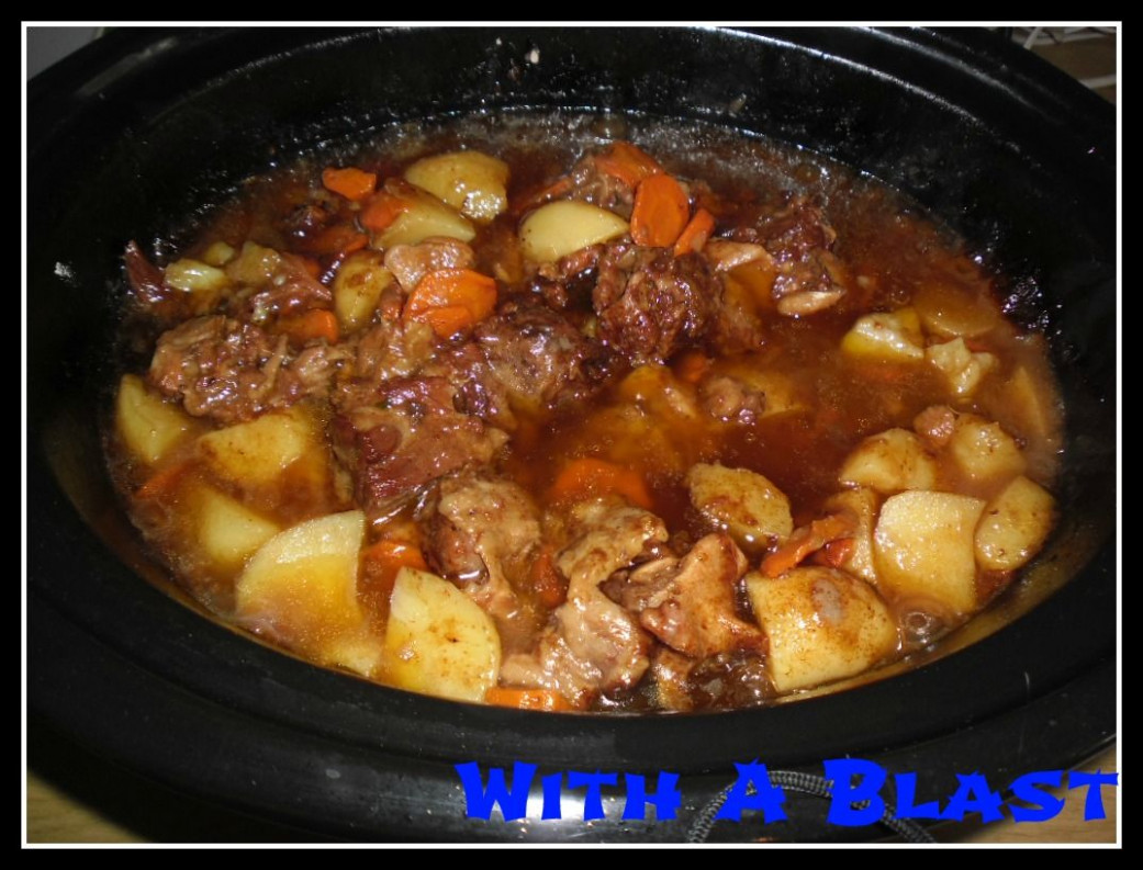 oxtail stew recipe slow cooker