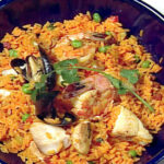 Paella Recipe Vigo Yellow Rice | Dandk Organizer