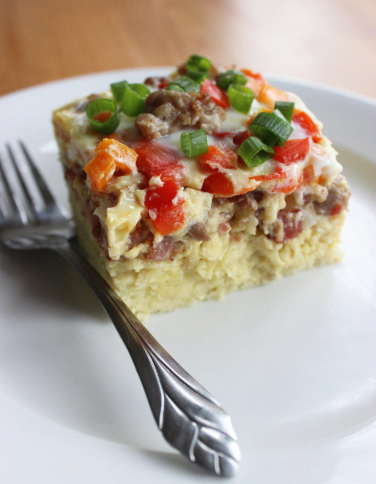 Paleo and Gluten-Free Overnight Breakfast Casserole Recipe ...