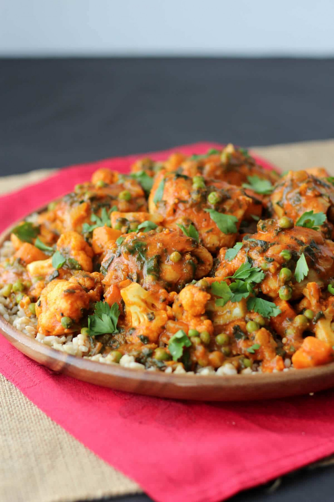 Paleo Chicken Curry with Sweet Potatoes|Gluten Free One ...