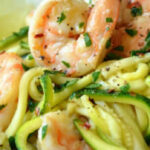 Paleo Diet Recipes – Low Carb Shrimp Scampi With Zucchini …