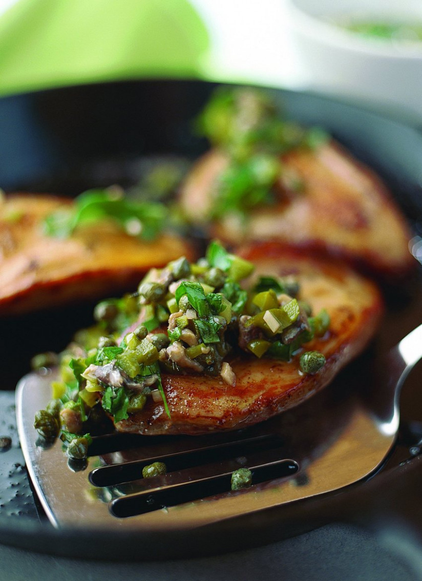 Pan Fried Pheasant With Salsa Verde | Recipe | Wild Meat ...