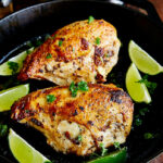 Pan Seared Oven Baked Chicken Breast Recipe – I FOOD Blogger