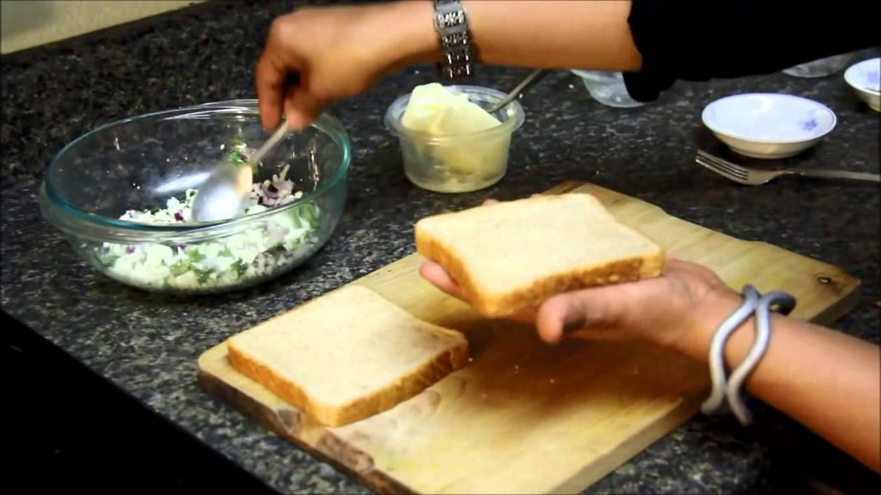 Paneer Sandwich Recipe : Quick Easy Healthy Indian ...