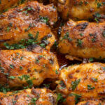 Paprika Baked Chicken Thighs