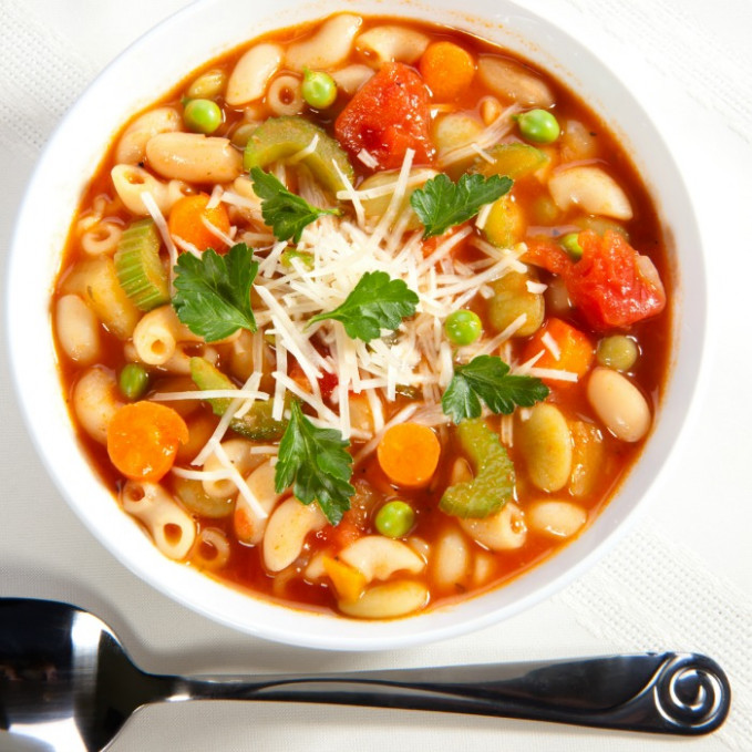 pasta and bean soup lidia bastianich