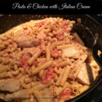 Pasta And Chicken With Italian Cream. Easy, Scrumptious …